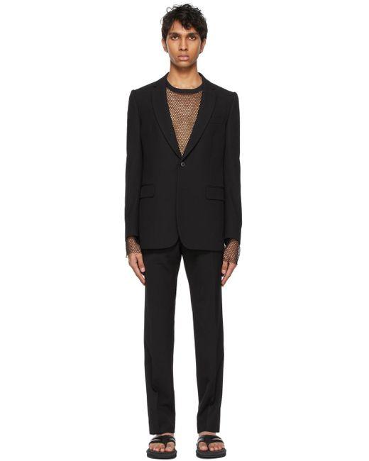 メンズ Dries Van Noten ブラック スーツ Black