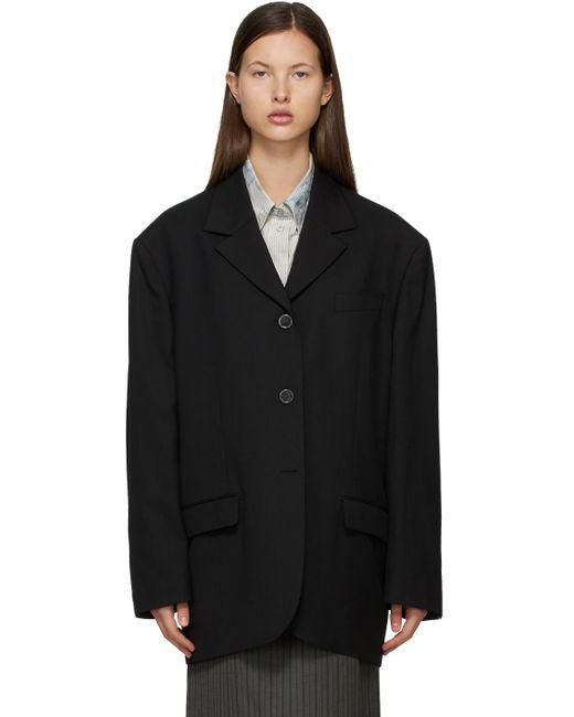 Acne ブラック Suit ブレザー Black