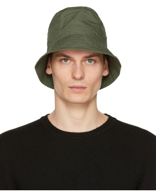 Chapeau en tissu anti-déchirures kaki Engineered Garments pour homme en coloris Green