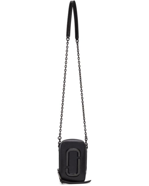 Marc Jacobs Black The Hot Shot Bag