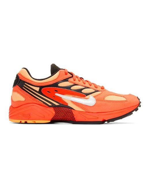 メンズ Nike レッド エア ゴースト レーサー スニーカー Red