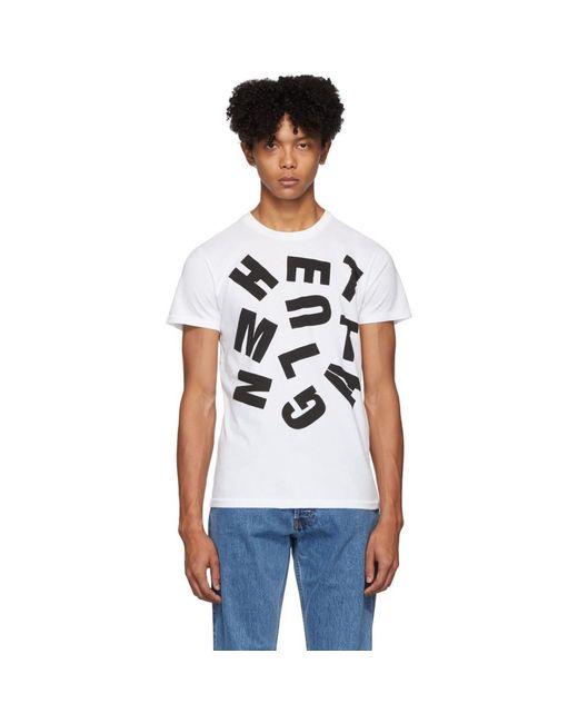 メンズ Helmut Lang ホワイト Hundley Standard T シャツ White