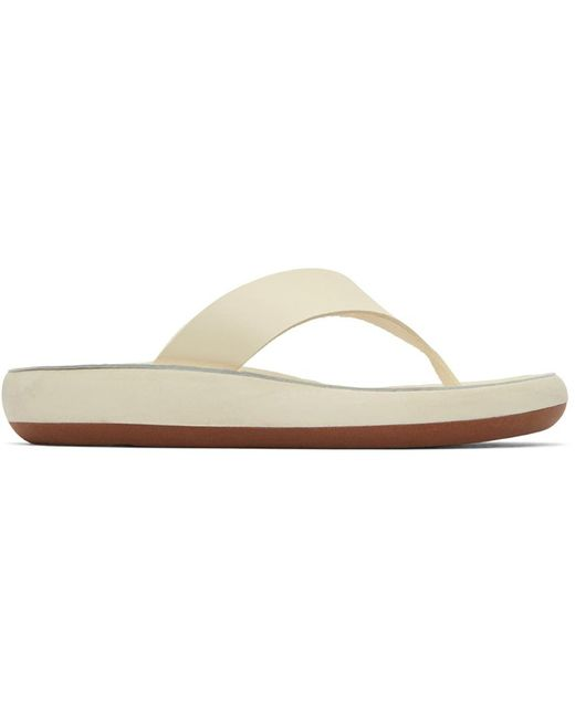 Ancient Greek Sandals オフホワイト Charys サンダル White