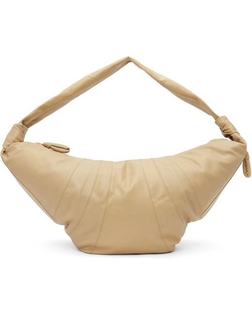 Lemaire ベージュ Giant Croissant バッグ Natural