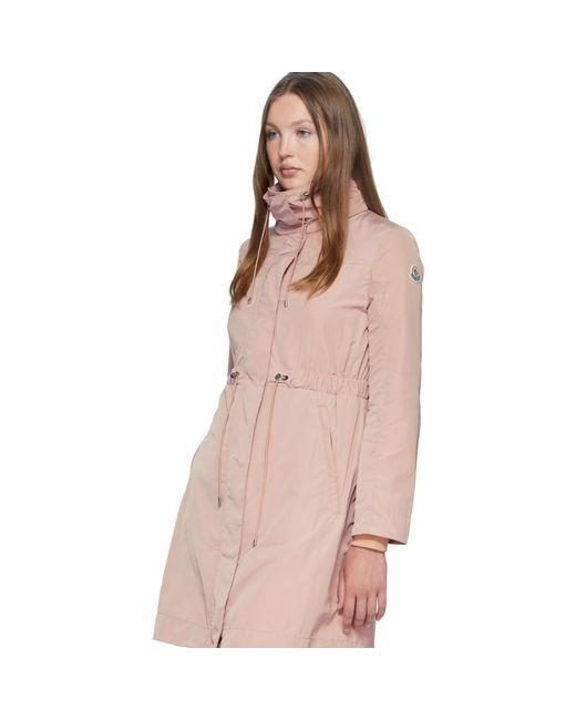 Moncler ピンク Malachite コート Pink