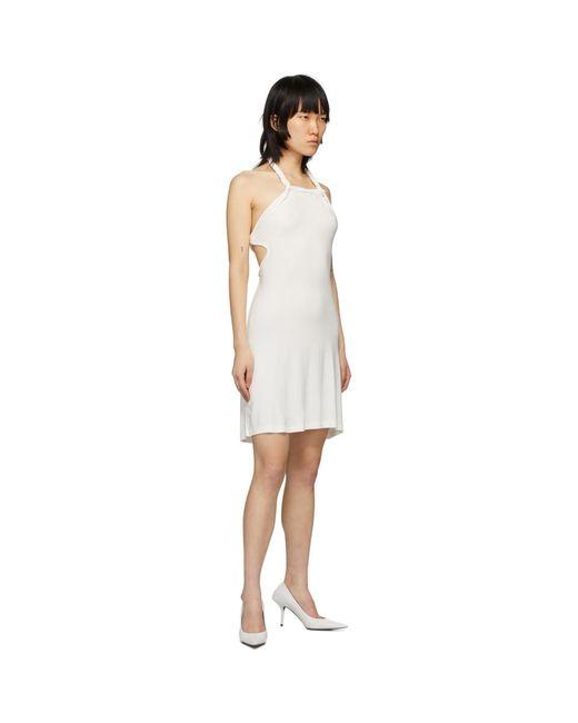 Vejas Ssense 限定 ホワイト ブレイド ミニ ドレス White