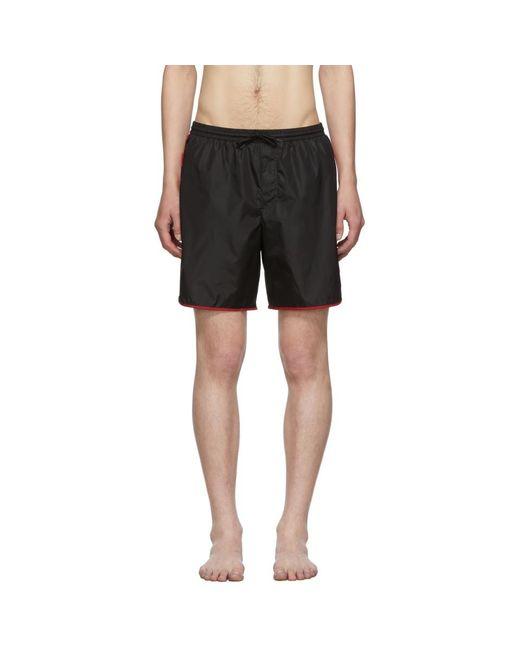 Gucci Black GG Swim Shorts for men