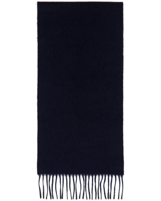 メンズ Paul Smith ネイビー スカーフ Blue