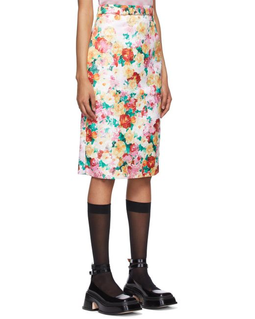ShuShu/Tong マルチカラー ペンシル スカート Multicolor