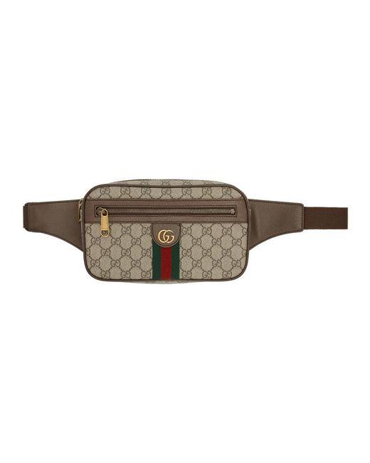 メンズ Gucci ベージュ オフィディア GG ベルト バッグ Natural