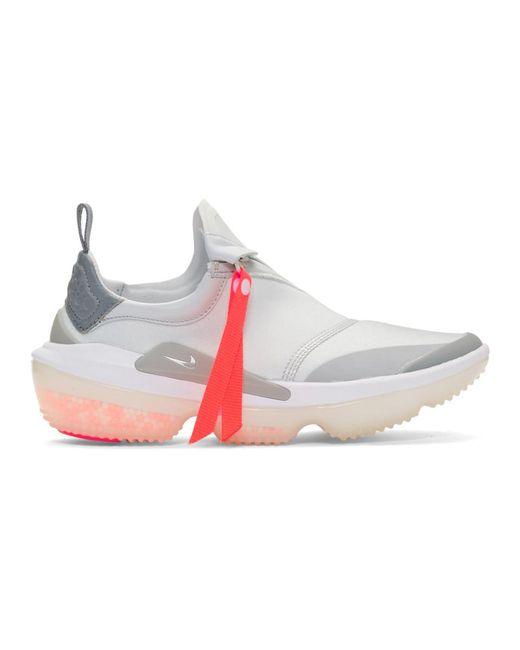 Nike グレー ジョイライド オプティック スニーカー Gray