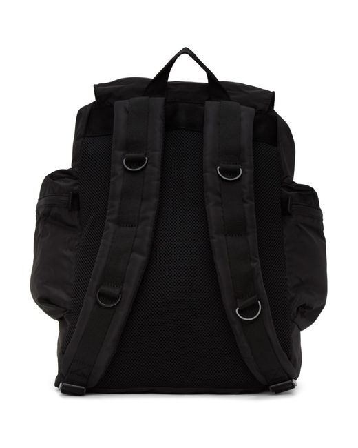Adidas By Stella McCartney ブラック サテン バックパック Black
