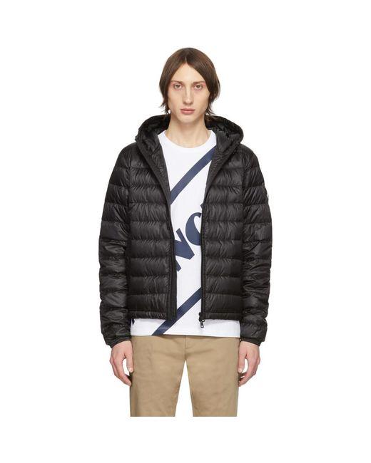 Moncler Black Down Rook Jacket for men