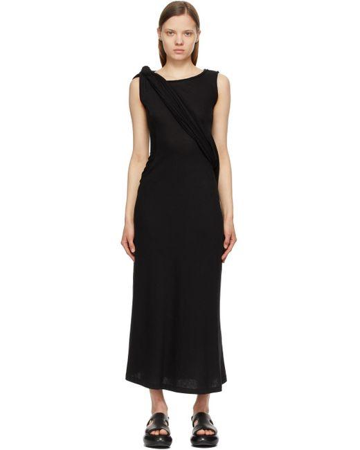 Yohji Yamamoto ブラック ロング ドレス Black