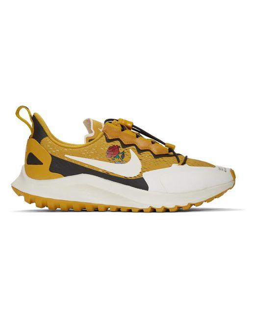 メンズ Nike Gyakusou コレクション イエロー ズーム ペガサス 36 スニーカー Yellow