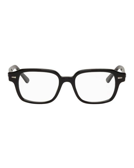 メンズ Ray-Ban ブラック Tuscon Icons メガネ Black