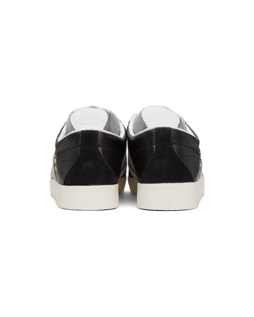 メンズ Adidas Originals ブラック Gazelle ビンテージ スニーカー Black