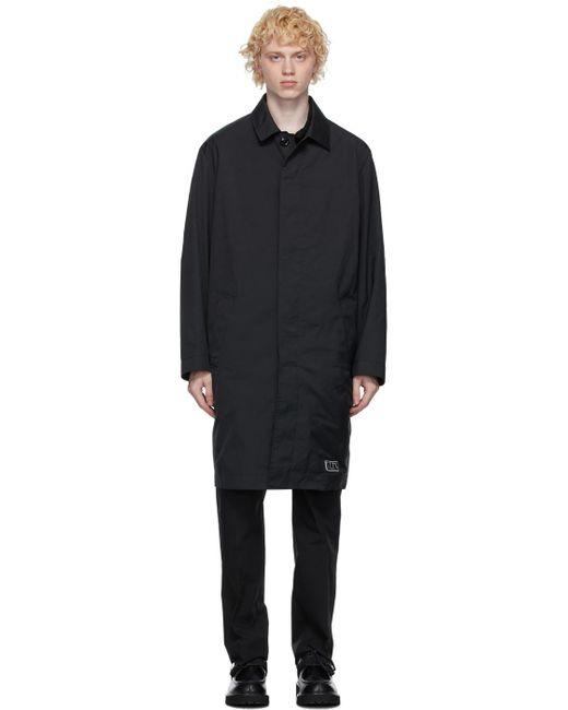 メンズ Valentino ブラック Vltn タグ コート Black