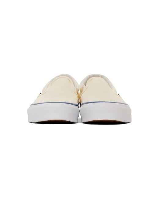 メンズ Vans オフホワイト Og クラシック スリッポン Lx スニーカー White