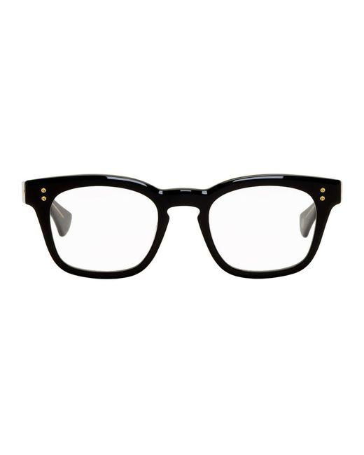 メンズ Dita Eyewear ブラック Mann メガネ Black