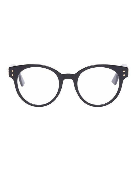 Dior ブラック Cd3 メガネ Black