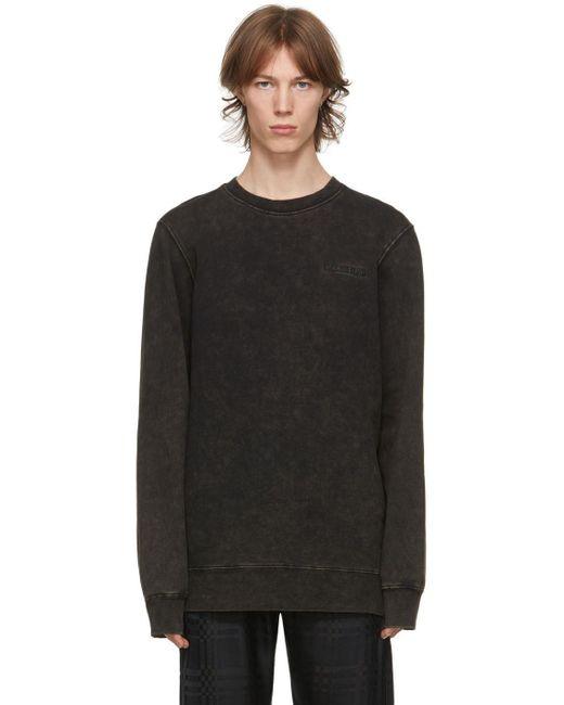 メンズ Han Kjobenhavn ブラウン Casual スウェットシャツ Black