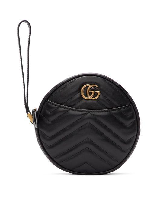 Gucci ブラック GG マーモント 2.0 クラッチ Black
