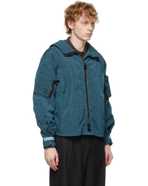 メンズ Maison Margiela ブルー スポーツ ジャケット Blue