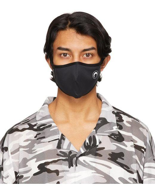 メンズ MARINE SERRE ブラック Daily Wear マスク Black
