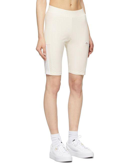 Adidas Originals オフホワイト Adicolor ショーツ White