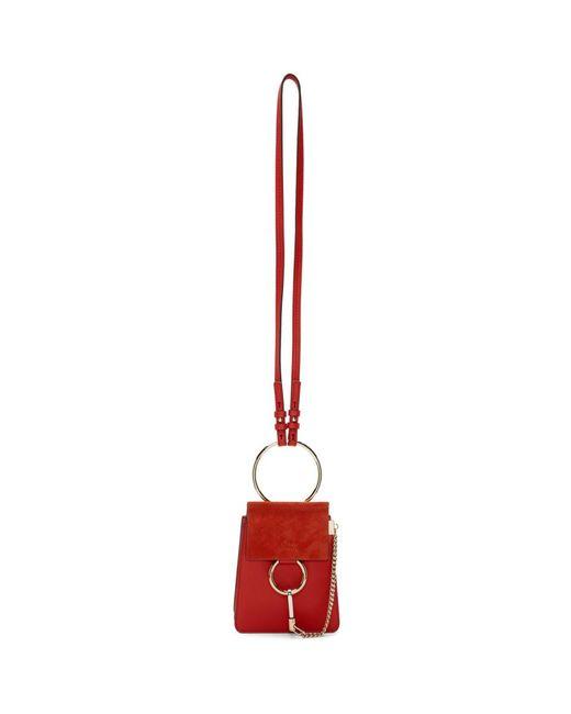 f0db0919 Women's Red Small Faye Bag