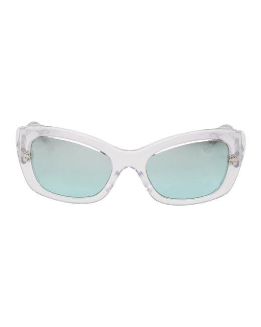 Prada - Multicolor White Postcard Sunglasses - Lyst