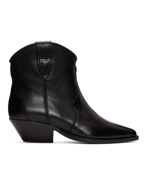Isabel Marant ブラック Dewina ブーツ Black