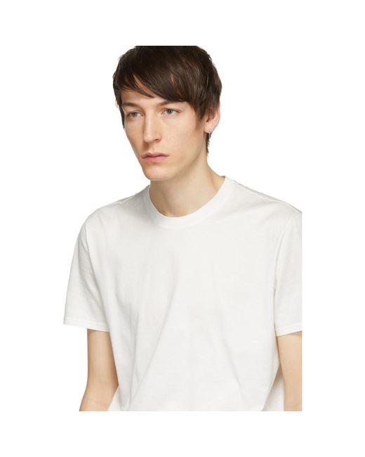 メンズ Givenchy ホワイト Atelier パッチ T シャツ White
