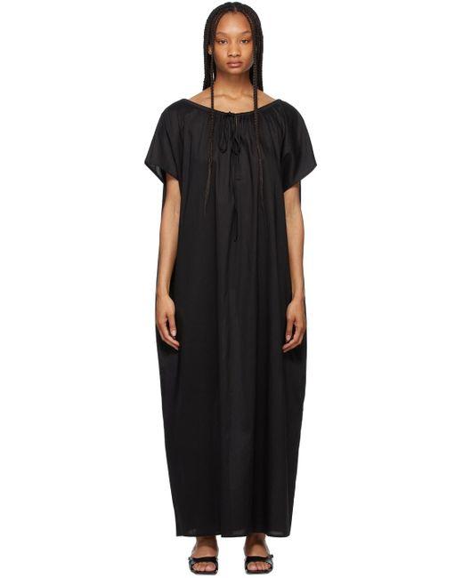 Totême  ブラック チュニック ドレス Black