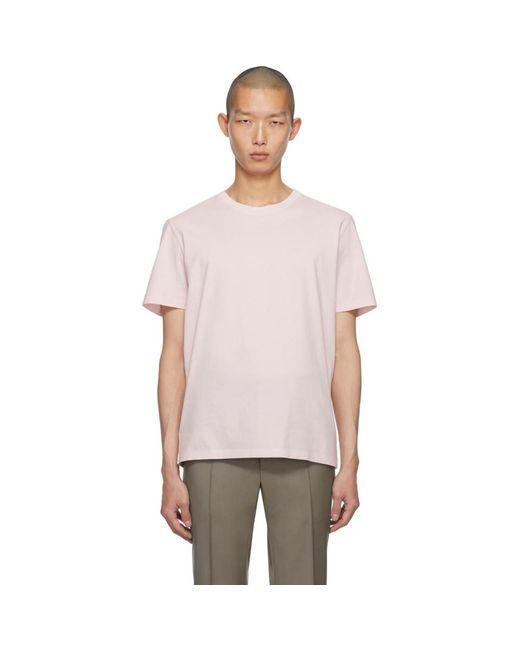 メンズ Maison Margiela ピンク クラシック T シャツ Pink