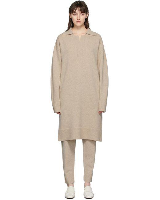 Robe polo beige O'Size Joseph en coloris Natural