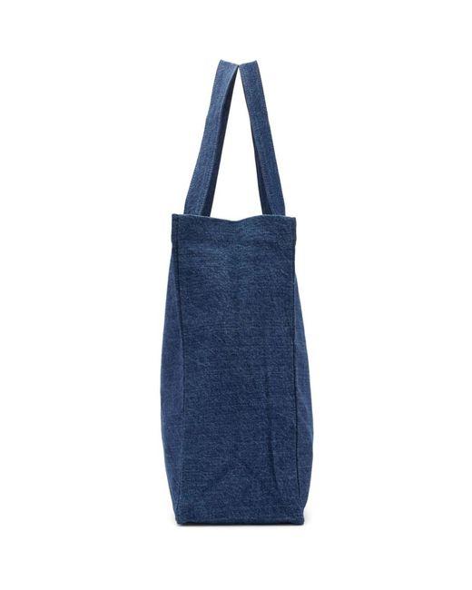 メンズ A.P.C. Carhartt Wip Edition インディゴ ショッピング トート Blue