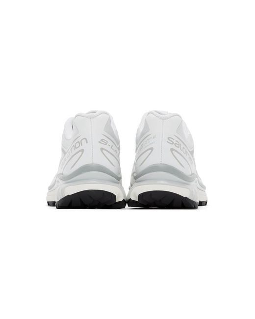 Salomon 限定エディション ホワイト Xt-6 Adv スニーカー White