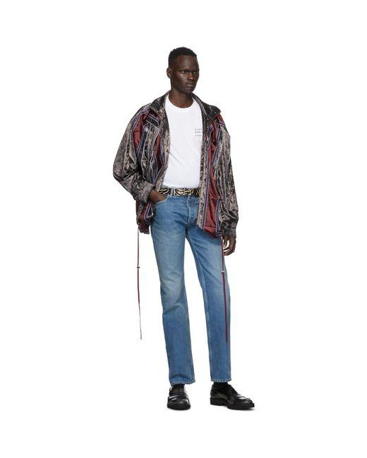 メンズ Y. Project パープル ベルベット Pop Up ジャケット Multicolor