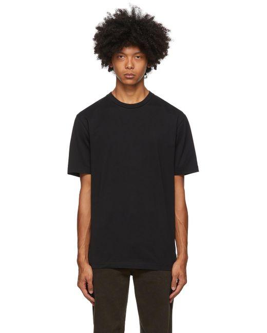 メンズ Acne ブラック スリム フィット T シャツ Black