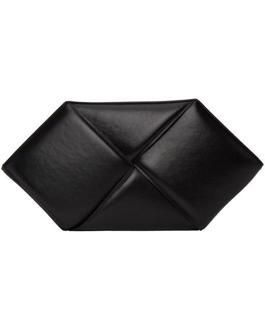 Bottega Veneta ブラック ヘクサゴナル ポーチ Black