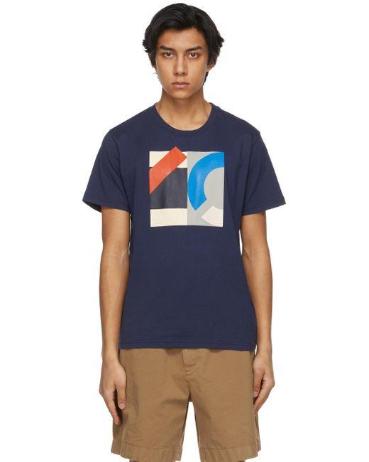 メンズ KENZO ネイビー T シャツ Blue
