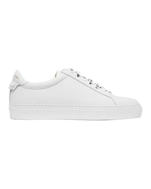 Givenchy ホワイト 4g Urban Street スニーカー White
