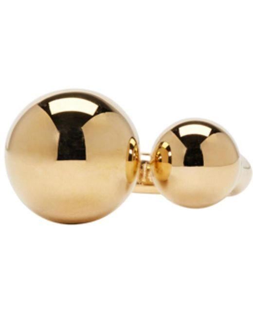 Chloé | Metallic Gold Oma Pearl Ring | Lyst