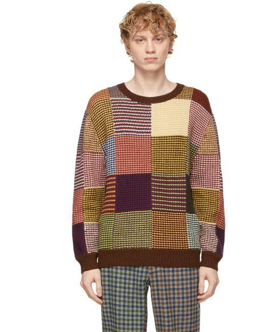 メンズ Bode マルチカラー Sampler セーター Multicolor