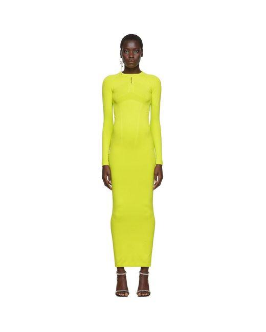 Unravel Project グリーン テック シームレス ドレス Green
