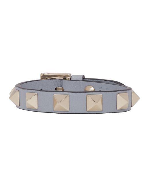 Valentino - Multicolor Blue Garavani Rockstud Bracelet - Lyst