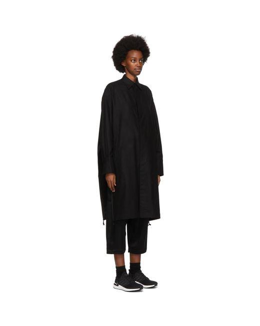Y-3 ブラック クラシック ウインター シャツ Black