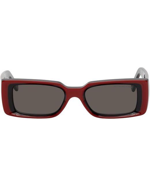 メンズ Cutler & Gross レッド & ブラック 1368 サングラス Red